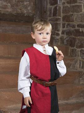 Vêtements médiévaux pour enfants