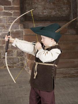 Boucliers et épées en bois