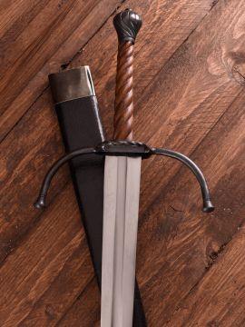 Epée batarde à deux mains avec fourreau
