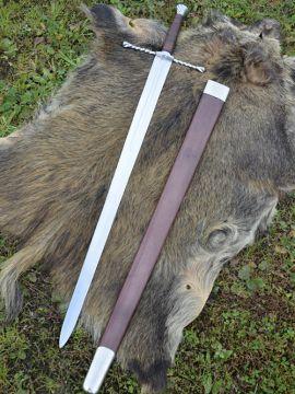 Epée batarde avec fourreau