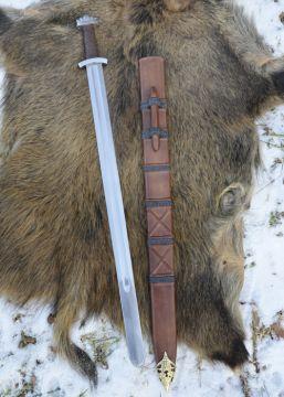 Epée Viking de combat, avec fourreau