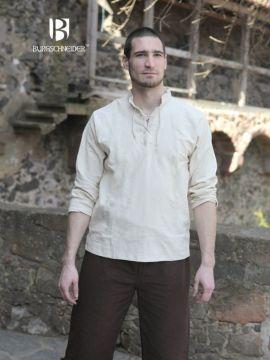 Chemise médiévale Tristan en écru