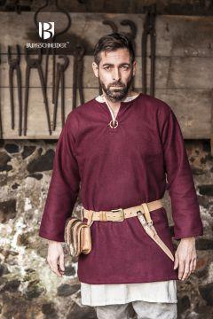 Tunique en laine Lodin en rouge