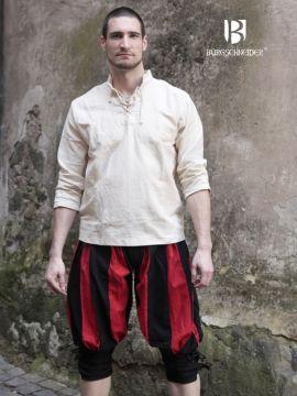 Culotte Lanquenet maximilien en rouge et noir