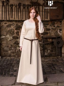 Surcot Freya en blanc-écru