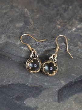 Boucles d'oreilles Viking Gotland en bronze - Petit modèle