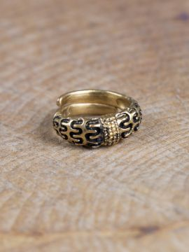 Bague Viking Falster en bronze