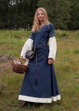Robe Agatha bleue S
