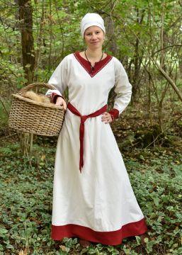 Robe viking Freydis en écru