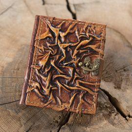 Carnet médiéval en cuir
