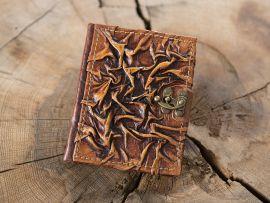 Petit Carnet médiéval en cuir