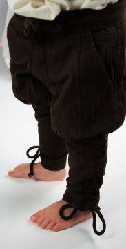 Pantalon médiéval enfant en marron