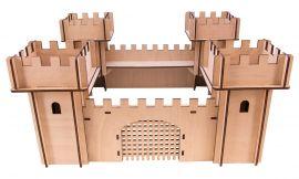 Chateau en bois 3D