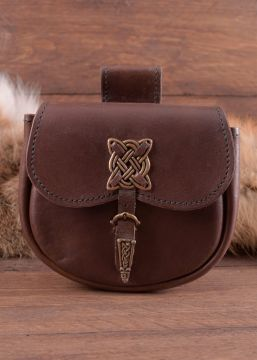 Pochette de ceinture avec motifs celtiques