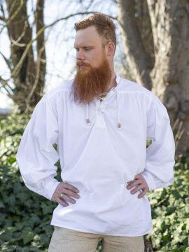 Chemise médiévale blanche