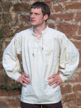Chemise médiévale L | blanc