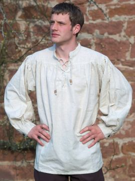 Chemise médiévale S | blanc-écru