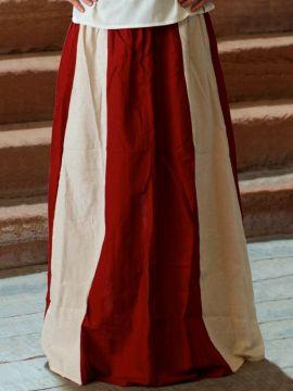 Jupe médiévale bicolore