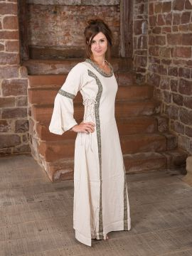 Robe Clarisse en blanc