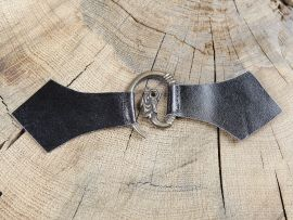 Boucle médiévale en métal à tête de dragon
