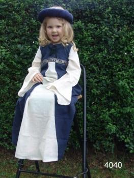 Robe Piccolina bleu/écru | grand