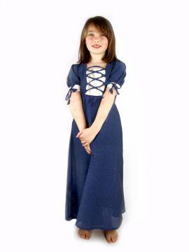 Robe légère bleue pour enfant