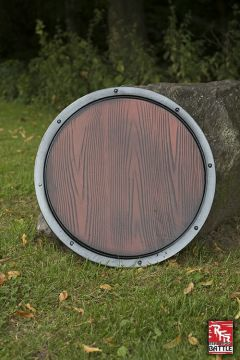 Bouclier imitation bois