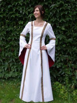 Robe médiévale de soirée