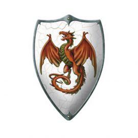 Bouclier motif dragon