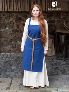 Robe Viking Frida en bleu marine