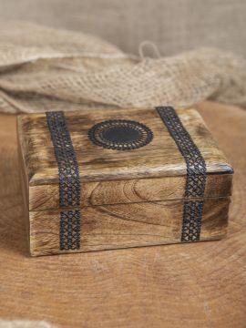 Coffre en bois pour bijoux