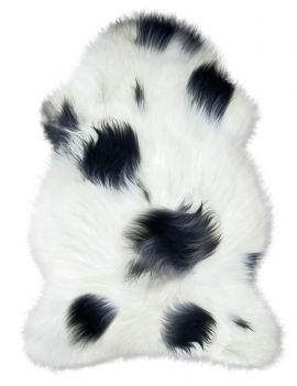 Peau de mouflon à poils longs