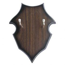 Porte-épée mural en bois