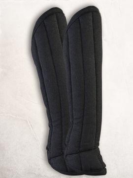 Gambison de jambes en noir