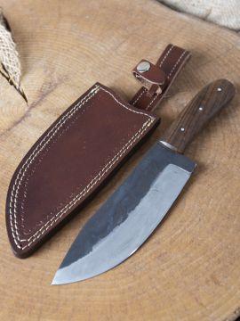 Long couteau à large lame