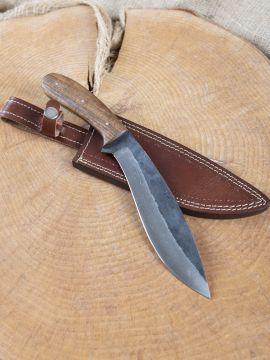 Couteau de chasse à lame incurvée