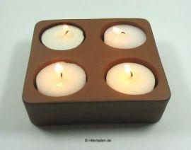 Support en argile pour bougies