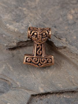 Perle viking Marteau de Thor