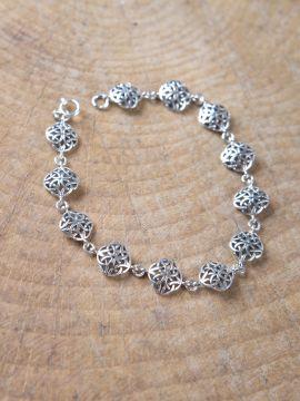 Bracelet à motifs celtiques 18,5 cm