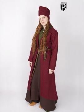 Manteau Viking Aslôg, en rouge
