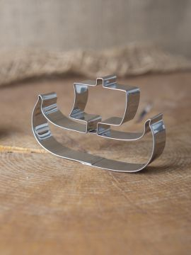 Emporte-pièce bateau viking