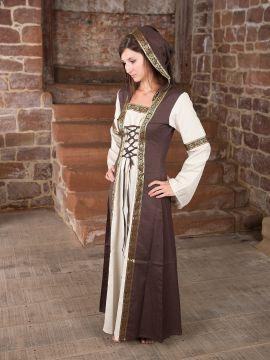 Robe Capuche bicolore