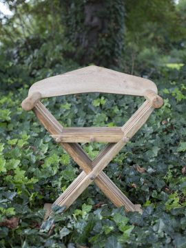 Chaise ciseaux médiévale