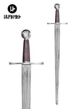 Epée de combat médiévale avec fourreau