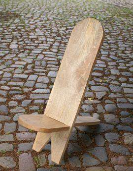 Chaise haute en manguier