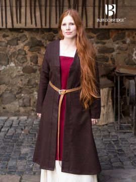 Manteau Viking Aslôg, en marron