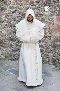 Habit de moine bénédictin en écru