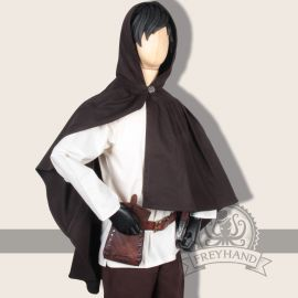Capelet Carum en marron