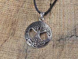 L'arbre de vie celtique en argent massif