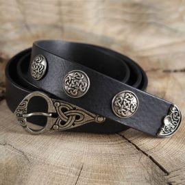Ceinture cuir à motifs celtiques